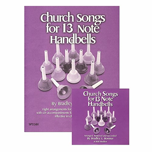 Bonner Church Song Book for 13-Note Handbells plus CD (8 Songs; All Ages)