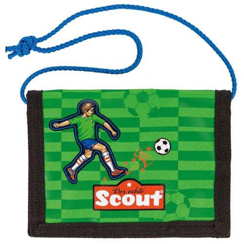 Scout 25160098800 Brieftasche Fahrausweishülle, Grün