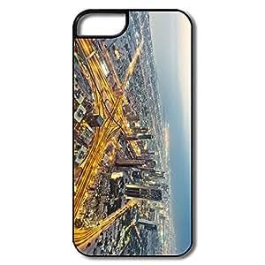 IPhone 5S Cases, Burj Khalifa Dubai White/black Covers For IPhone 5/5S