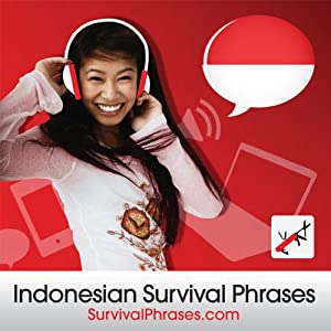 Survival Phrases - Indonesian (Part 1), Lessons 1-30 Audiobook