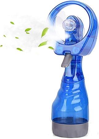 LCHULLE Mini Ventilador de Mano Pulverizador de Agua Portátil Fan ...