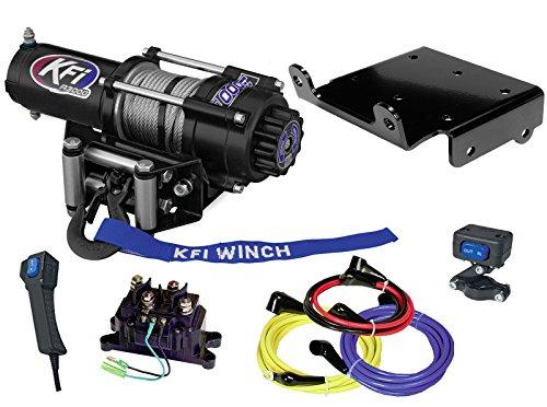 KFI Combo Kit - A3000 Winch & Winch Mount - 2005-2007 Suzuki LTA700 King Quad 700 - All Models