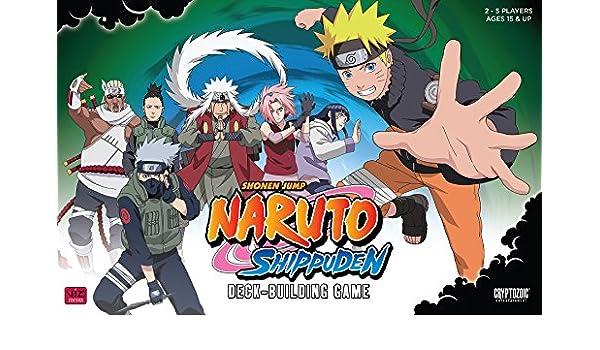 Naruto Deck Shippuden Deck Building Game: Amazon.es ...