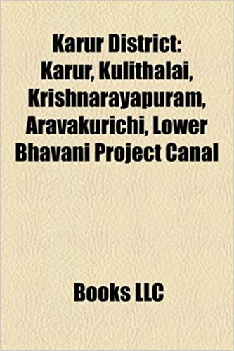 Amazon in: Buy Karur District Book Online at Low Prices in