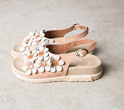 Grazziali Sandali Femminili Per Le Scarpe Estive Flat Style Rome Flat Shoes Tacchi Vintage A Forma Di Pesce Testa