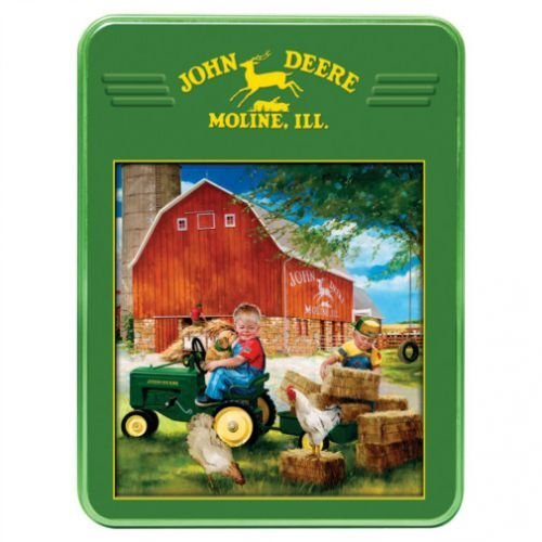 All States Ag Parts 1000 Piece Puzzle Collectible Tin - Growing Up Country John ()