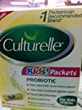 Culturelle for Kids - Probiotic - 30 Dairy Free Probiotic Powder Packets - 30 Ct, Pack of 2