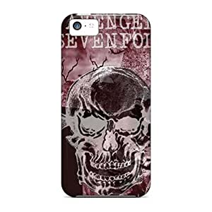 Protector Hard Cell-phone Cases For Iphone 5c (efj15129fpDs) Support Personal Customs Nice Avenged Sevenfold Pattern