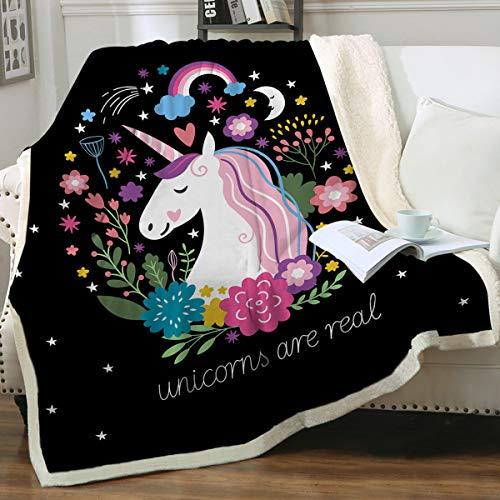 Sleepwish Cute Unicorn Blanket
