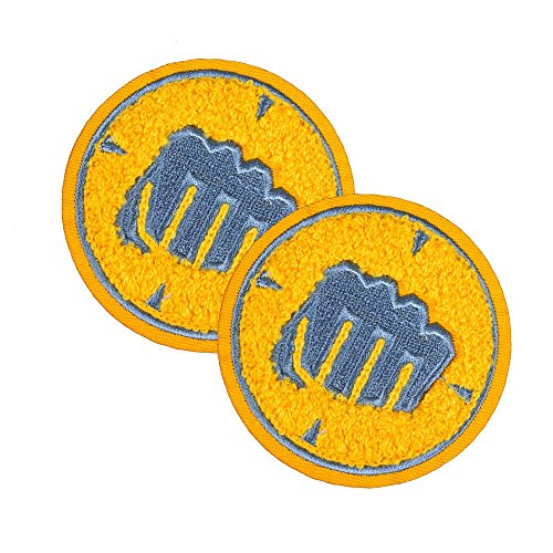 Team Fortress 2 Heavy Patches: Set of 2, Team Blu by Team Fortress