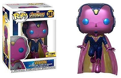 81ca05b49b Amazon.com  Funko Pop! Marvel Avengers Infinity War Vision (Hot ...