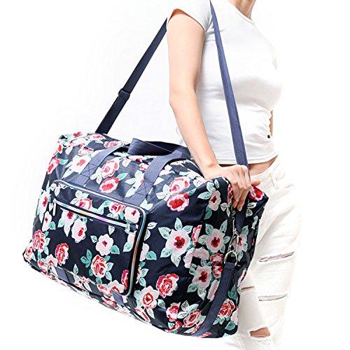 Denim Duffle Bag - 4