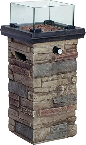 SEASONAL TRENDS 50168 Column Patio Fire Monterey, 22