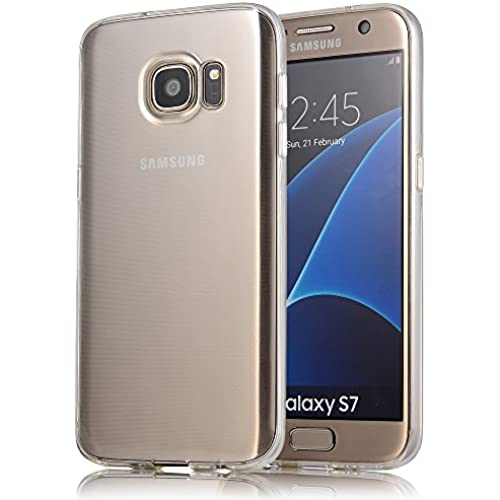 Galaxy S7 Case, COSANO [Clear Case] for Samsung Galaxy S7 (5.1 inch) Clear Case Scratch Resistant Shock-Absorbing Case Soft Flexible TPU COSANO Transparent Clear Sales