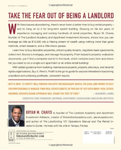 Buy It, Rent It, Profit!: Make Money as a Landlord in ANY Real Estate Market