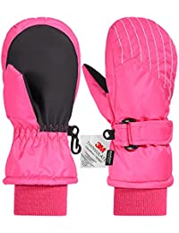 Kids Mittens Gloves, Winter Snow Ski Mittens for...