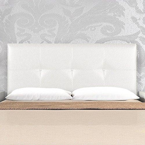 Cabecero polipiel great cabecero moderno marco de madera - Cabezal cama polipiel ...