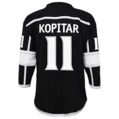 536e6051074 Anze Kopitar Los Angeles Kings #11 Youth Black Home Replica Jersey  (Small/Medium