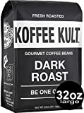 Koffee Kult Dark Roast Coffee Beans - Highest Quality...