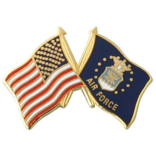 (Air Force Flag Lapel Pin)
