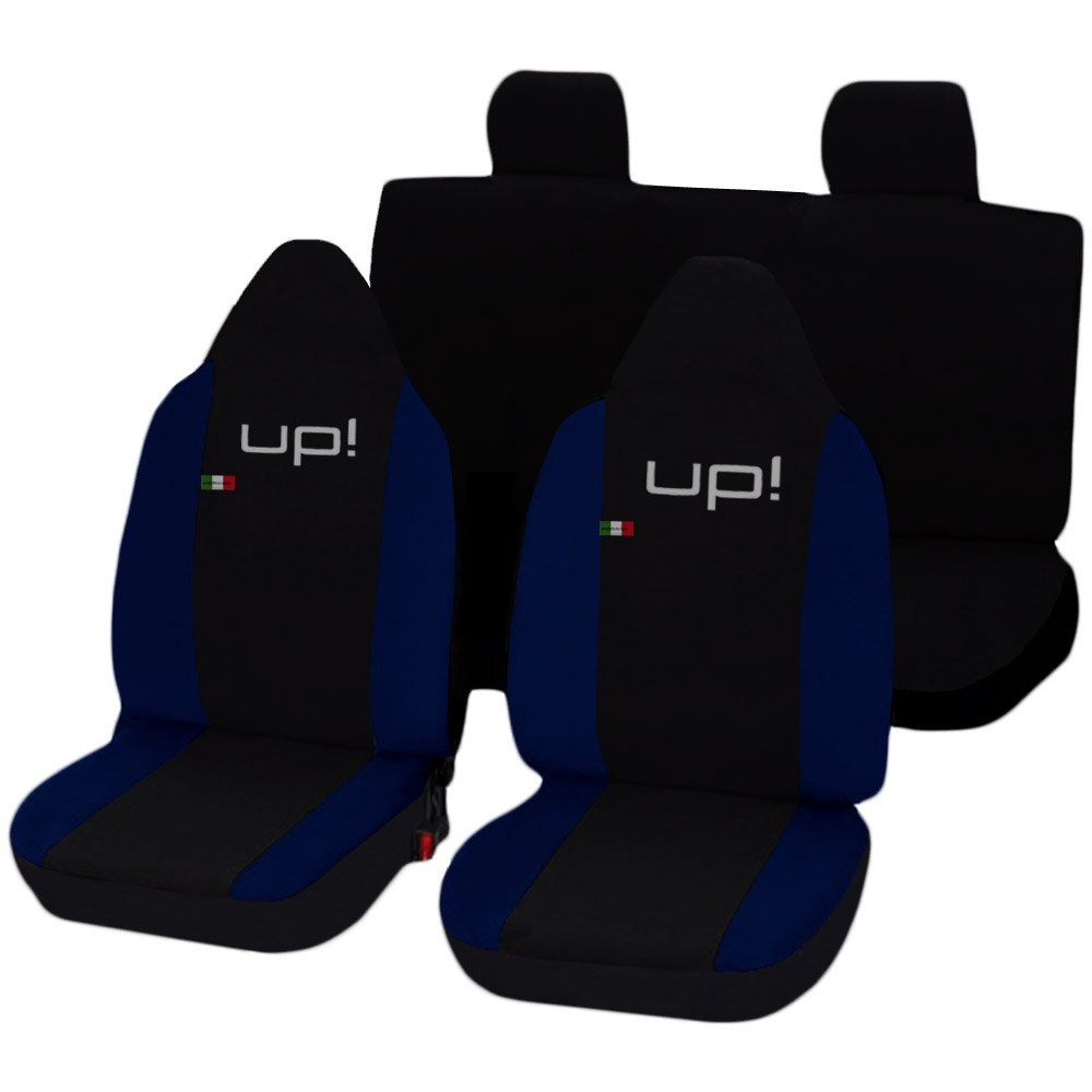 Lupex Shop Up/_N.BS Coprisedili Nero//Blu Scuro