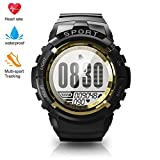 Sport Watch for Men Smart Fitness Activity Tracker IP68 164ft Waterproof with HR