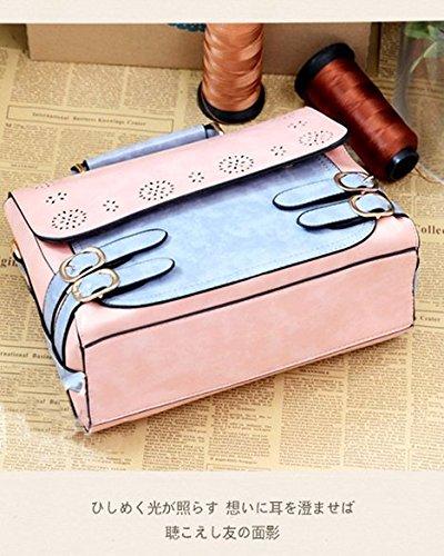 Whoinshop - Borsa a tracolla donna pink