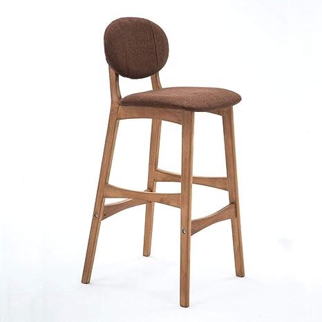 Amazon.com: CQOZ Bar Chair with Backrest, Breakfast Kitchen ...