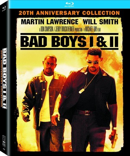 Blu-ray : Bad Boys / Bad Boys II (4K Mastering, Ultraviolet Digital Copy, Back to Back Packaging, 2 Pack, )