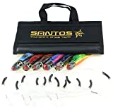 Santos Tournament Grade Tackle Tuna/Dorado Offshore Big Game Trolling Lure Pack