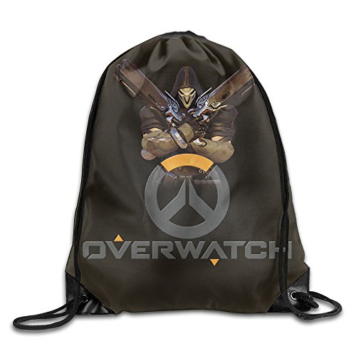 Bieshabi Overwatch Drawstring Backpacks Sack Bag/Bags