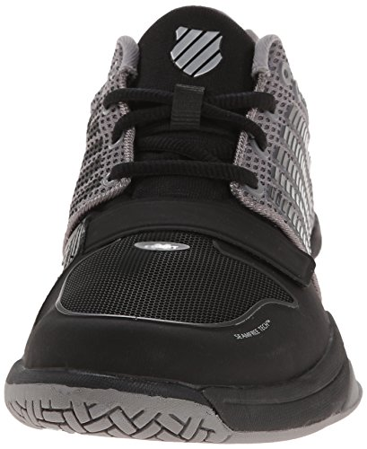 quality outlet store with paypal online K-Swiss X Court Mens Black & Grey Running/Gym Trainers UK 7-12 RRP £90 Free UK P&P! KHt61p3vc