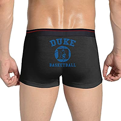 KINGG Sexy Duke University Seamless Stretchable Boxer Brief For Fashionable Men Black