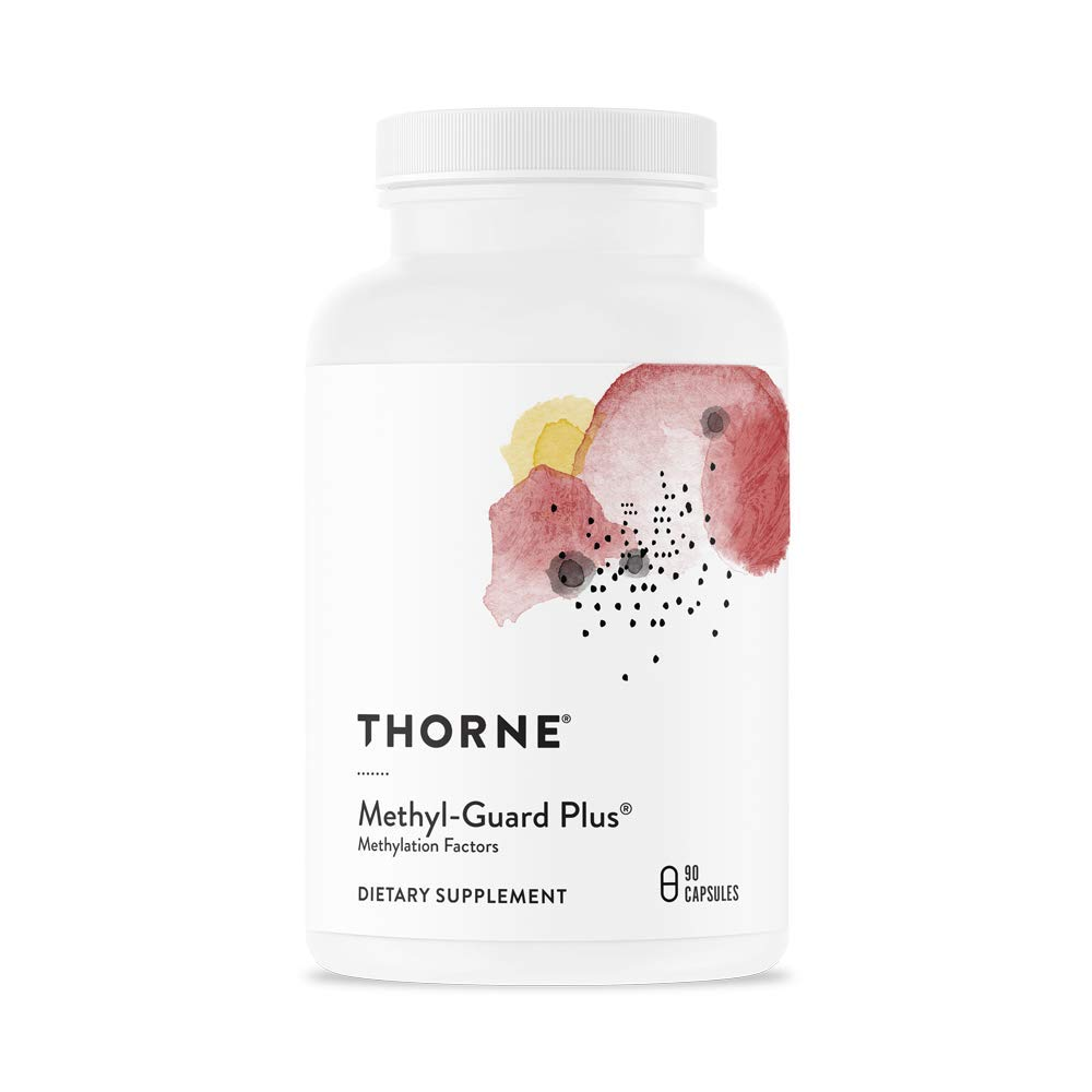 Thorne Research – Methyl-Guard Plus – Methylation Support Supplement with 5-MTHF Folate and Vitamins B2, B6, and B12 – 90 Capsules
