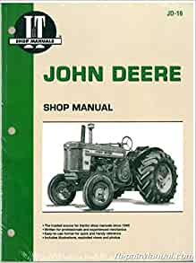 SERVICE PARTS OPERATORS MANUAL FOR JOHN DEERE MODEL 620 TRACTOR REPAIR SET