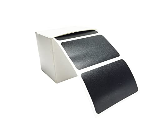 100 – Pizarra Pegatina, etiquetas, vinilo adhesivo, adhesivo decorativo en caja dispensadora