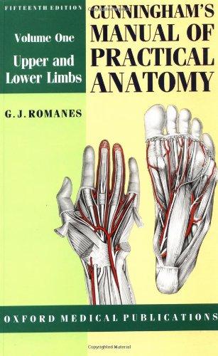 cunninghams manual of practical anatomy