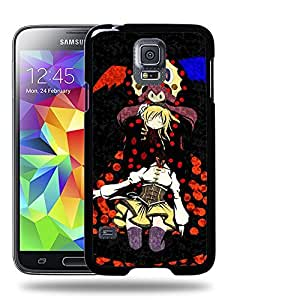 Case88 Designs Puella Magi Madoka Magica Mami Tomoe & Witch Charlotte Protective Snap-on Hard Back Case Cover for Samsung Galaxy S5