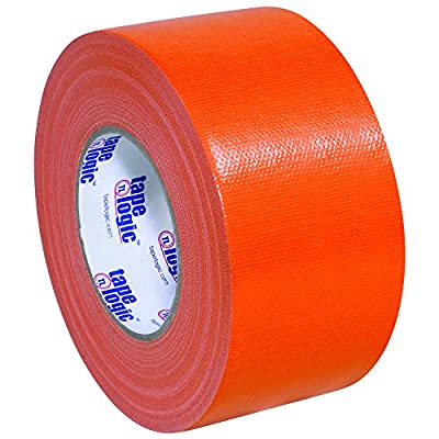 "Partners Brand PT988100RN Tape Logic Duct Tape, 10 mil, 3"" x 60 yd, Orange (Pack of 16) from Partners Brand"