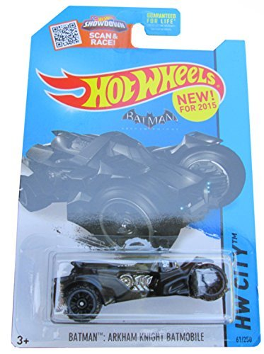 Hot Wheels 2015 HW City Batman: Arkham Knight Batmobile 61/2