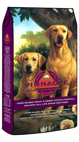 Pinnacle Trout and Sweet Potato Formula Dog Food, 30-Pound