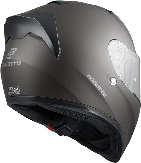 Bogotto V128 Helm Anthrazit Matt L