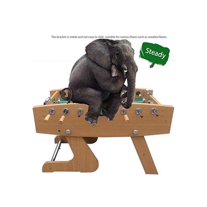 """51Ldf6Q0buL ✅ BOLETO PEQUEÑO PARA TODAS PARTES: El práctico tablero """"Kicker"""" se adapta a cualquier mesa, pero también se puede usar en todas las superficies planas. ✅ ALTA CALIDAD Y SEGURIDAD: la pequeña mesa de fútbol tiene un cuerpo hecho de una decoración de plástico insensible, campo de juego endurecido, figuras hechas de plástico duro resistente, gomas antideslizantes, amortiguadores de barra, barras cromadas con cerradura de seguridad para niños. ✅ TAMAÑO COMPACTO Y PESO LIGERO: Gracias a sus dimensiones compactas y bajo peso, la Mini Foosball Table es perfecta para divertirse con patadas móviles y flexibles."""
