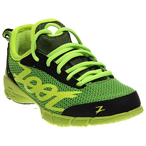 Zoot Women's Ultra Kiawe 2.0 Running Shoe,Green Flash/Safety Yellow/Black,8.5 M US