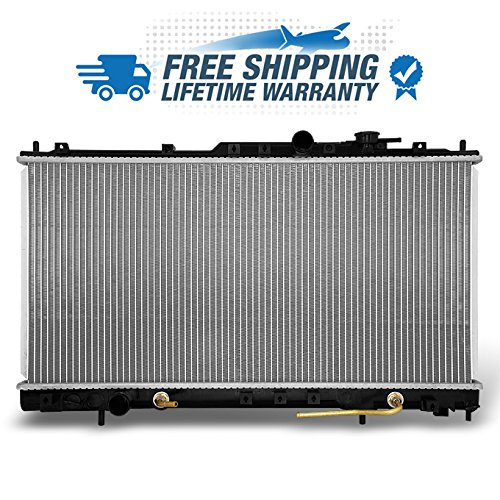 For V6 2.7L 3.0L Sebring Eclipse Stratus 2410 2433 Aluminum Radiator Direct Bolt On Replacement Assembly