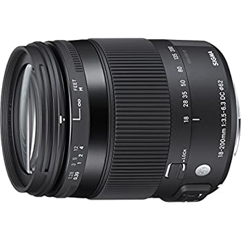 Sigma 18-200mm F3.5-6.3 Contemporary DC Macro OS HSM Lens for Canon