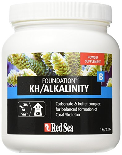 - Red Sea Fish Pharm ARE22027 Reef Foundation Buffer Supplement-B for Aquarium, 1kg