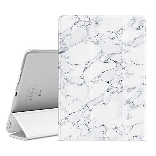 Ayotu iPad Pro 10.5 inch Case,Slim Lightweight Auto Wake/Sleep Smart Stand Cover Case with Translucent Frosted Back Magnetic Cover for Apple iPad Pro 10.5 Inch 2017 Release Tablet-The Marble Pattern by Ayotu