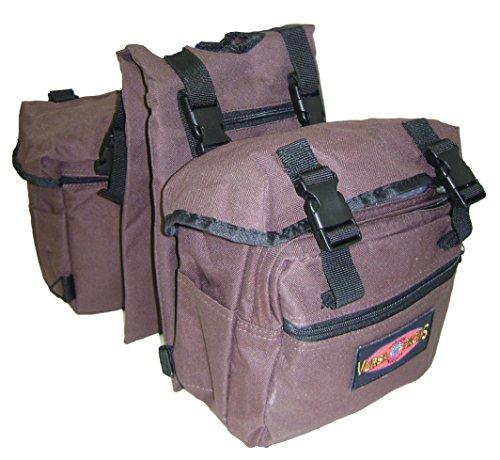 Hamilton Versa-Packs Equine Daypack/Horn Bag, Brown (Bag Daypack Horn)