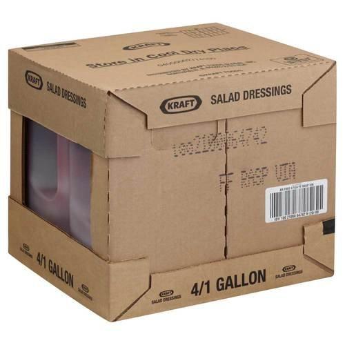 Dressing Kraft Free Raspberry Vinaigrette 4 Case 1 Gallon by Kraft